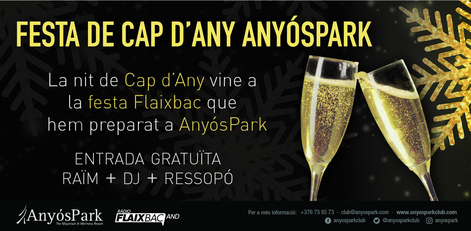 Cap d'Any a AnyósPark